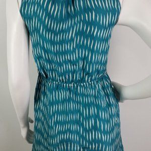 Anthropologie Dresses - Anthro Lilka Dress Sz 0 Ruffled 100% Silk Buttons
